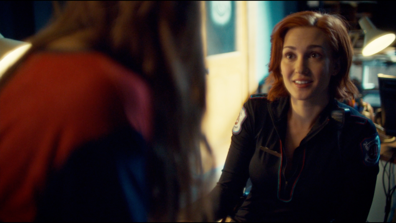 Nicole smiles lovingly at Waverly