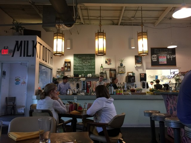 Milktooth may be one of the most hipster places in Indy, in the best  possible ways. While it opens at 7am, it only serves coffee and pastries  until 9am when ...
