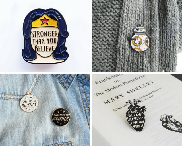 Relevant To Your Interests: Nerd Your Denim Jacket with Enamel Pins