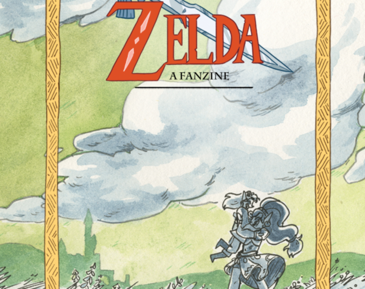 Drawn to Comics: The Legend of Gay Zelda: A Fanzine is Gay, Geeky and Great