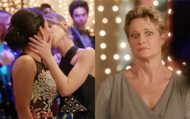 """Boob(s On Your) Tube: """"The Fosters"""" (Kind Of) Goes There With Mariana and Emma"""