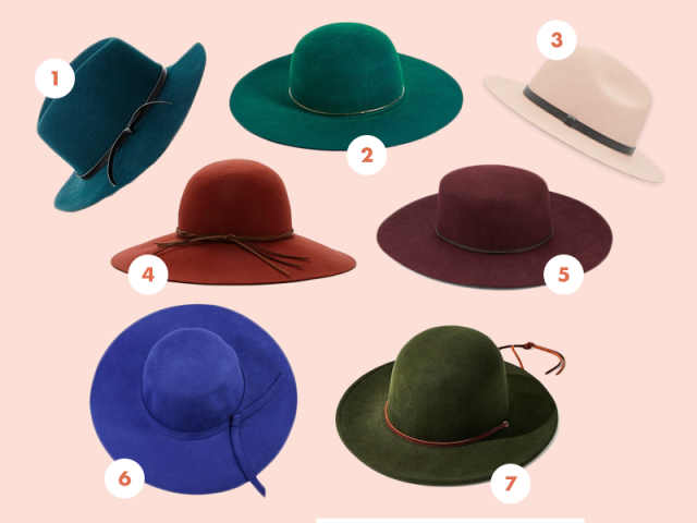 Colorful hats compilation
