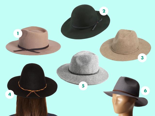 Medium-brimmed hats compilation