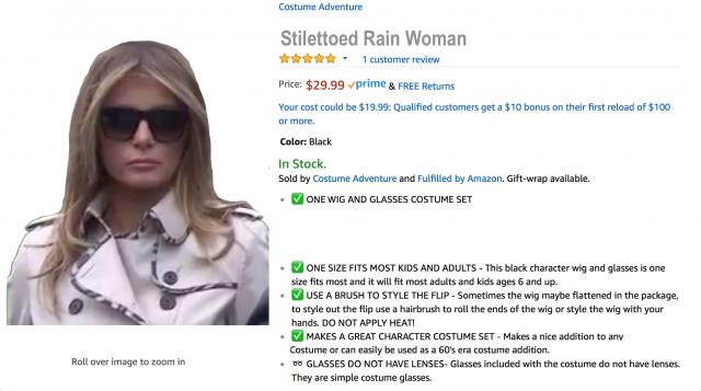 Stilettoed Rain Woman