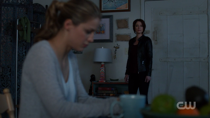 Alex looks back at Kara hoping to get through to her