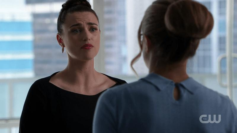 Lena pouts at Kara