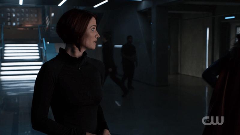Alex watches Kara walk away