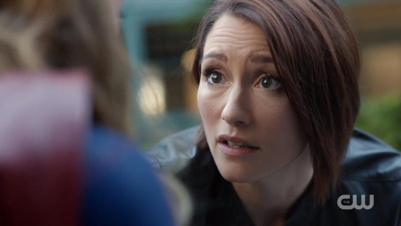 Alex looks at Kara imploringly