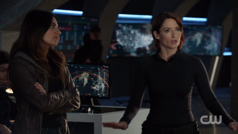 Alex looks angry and Maggie looks frustrated