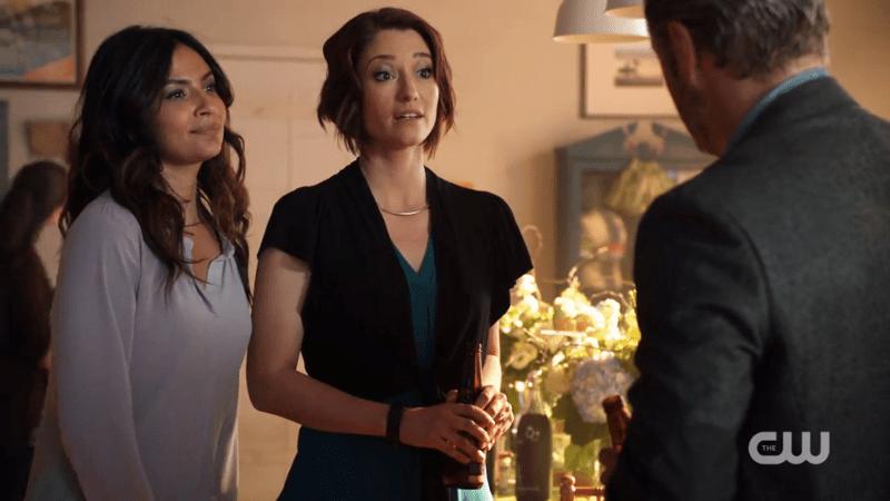 Maggie and Alex look super nervous to meet Maggie's dad
