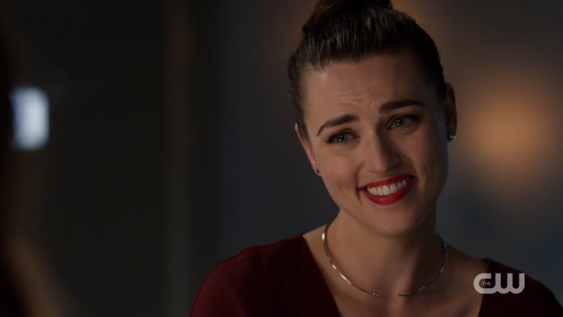 Lena Luthor laughs