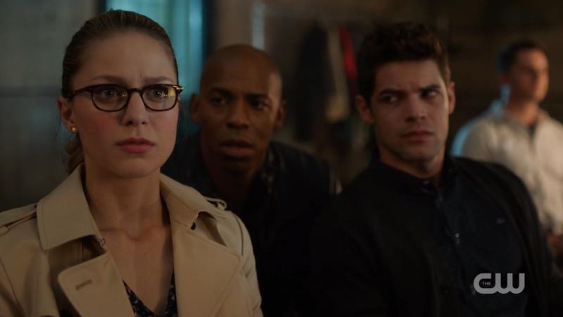Kara looks Very Concerned