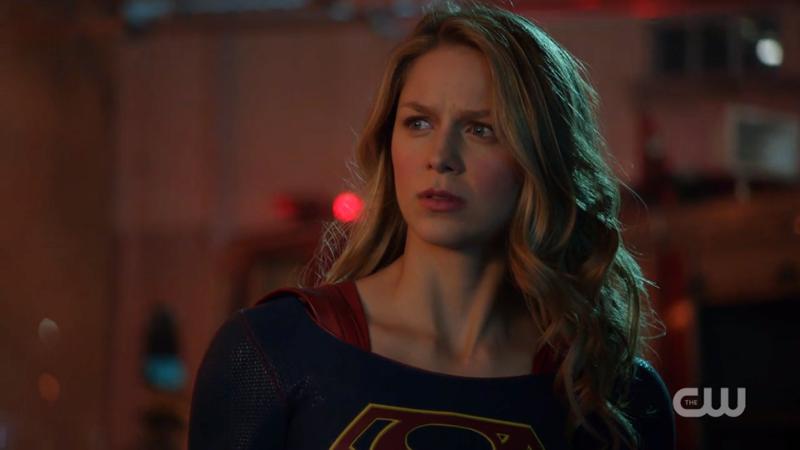 Kara looks perplexed at best