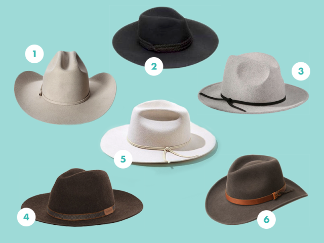 Western-style hats compilation