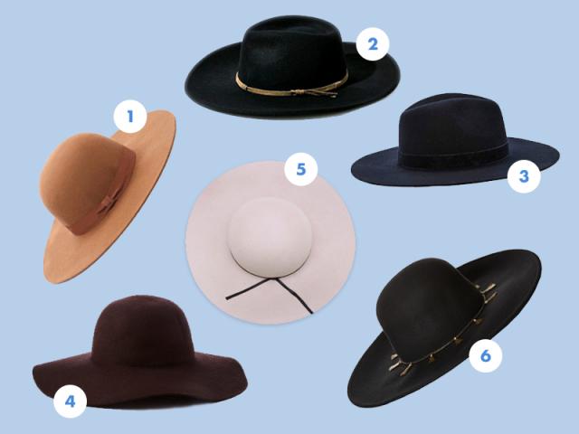 Wide-brimmed hats compilation