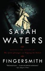 Books with lesbian sex: Cover art of Sarah Waters' Fingersmith