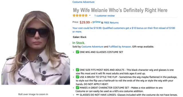 My Wife Melanie Who's Definitely Right Here