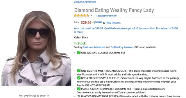 Diamond Eating Wealthy Fancy Lady