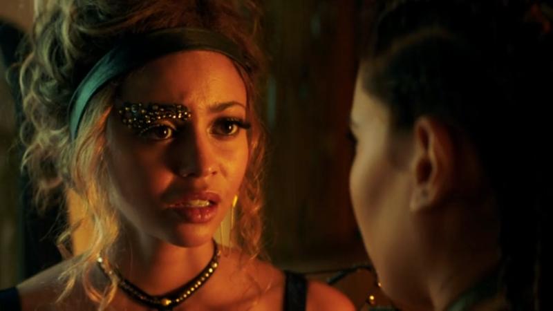 Princess Lyria has a bejeweled eyebrow
