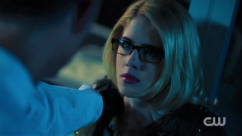 Felicity faces down Thawne