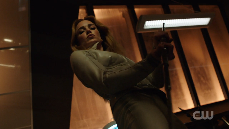 the White Canary suits up