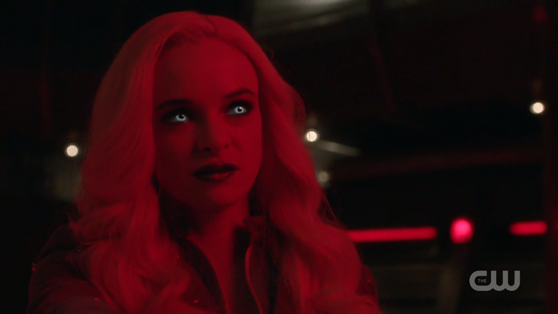 Killer Frost comes out to play