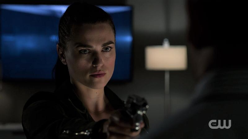 Lena's got a gun
