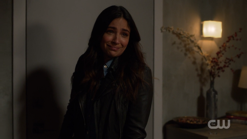 Maggie gives Alex one last smile