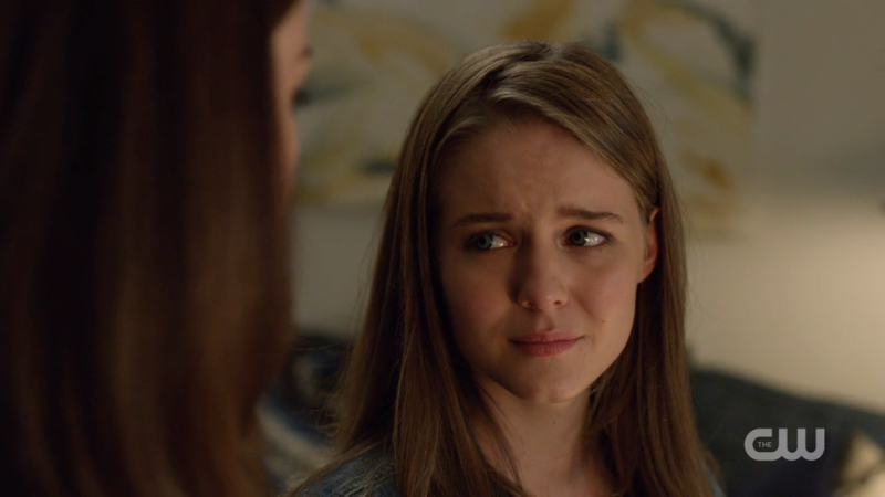 Young Kara looks so frustrated