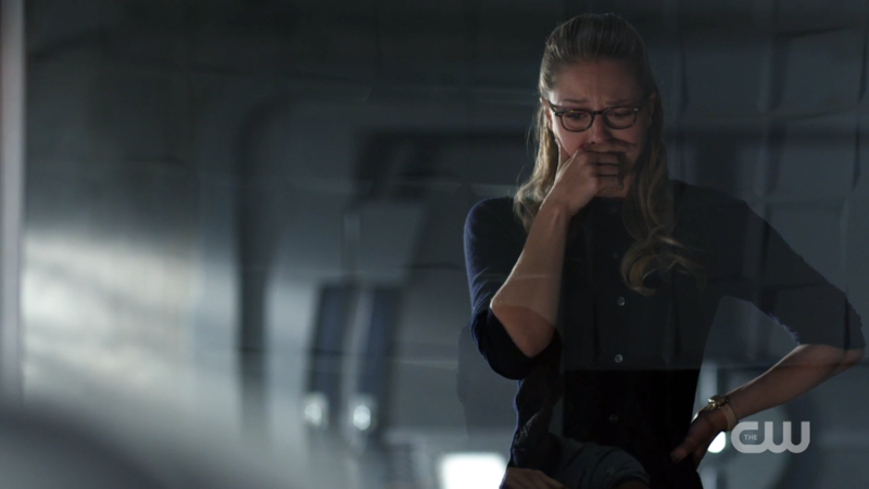Kara tries to fight her cries