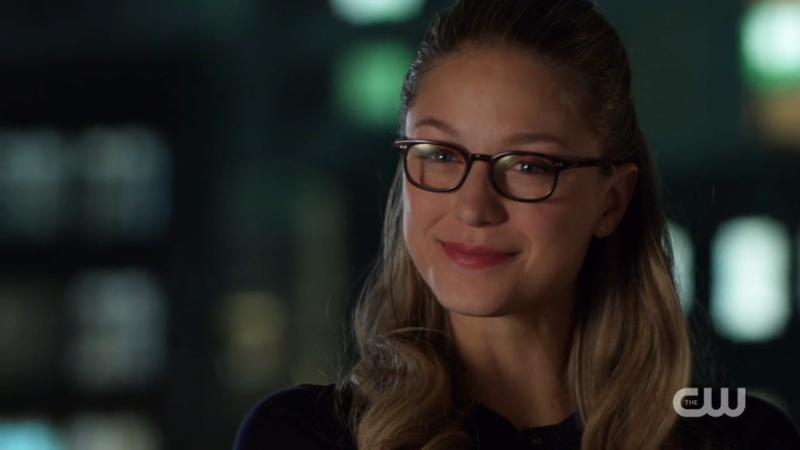 Kara tries to smile at Imra