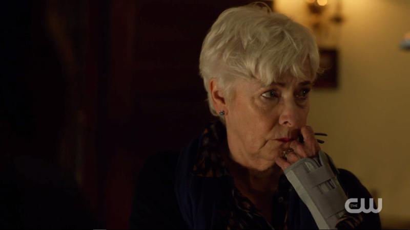 Grandma Marin looks upset
