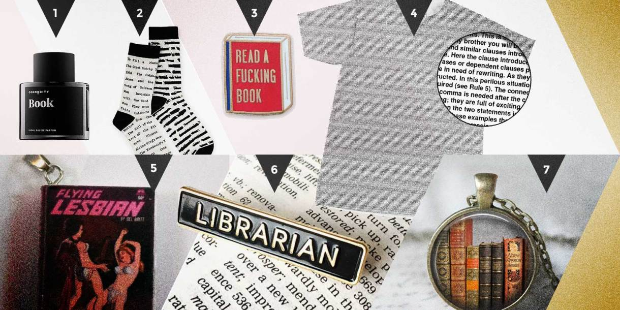 Autostraddle Gift Guide Books To Wear