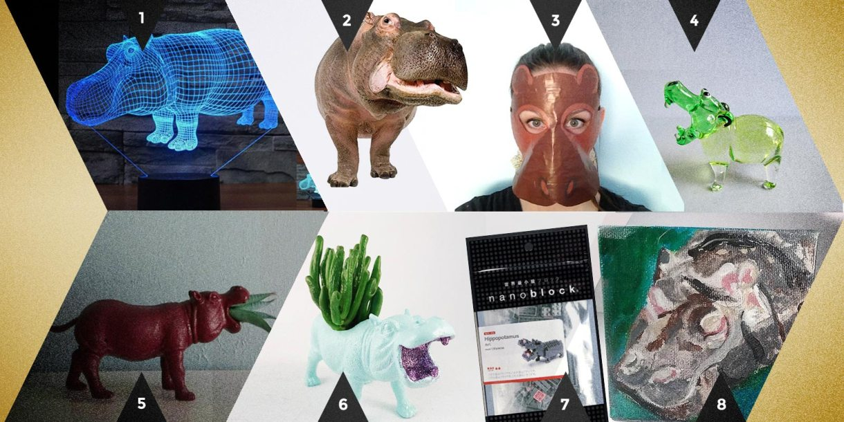 Autostraddle Gift Guide: Dirty Santa Hippos