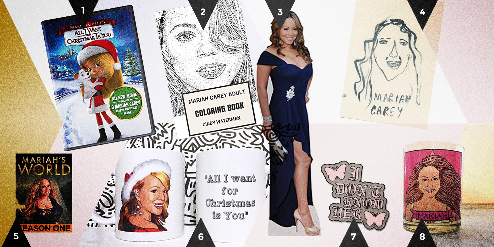 Autostraddle Gift Guide: Dirty Santa Mariah Carey
