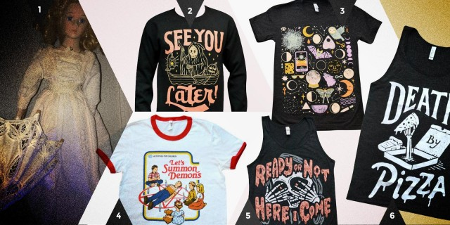 Autostraddle Gift Guide: Haunted Gifts Clothes
