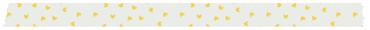wash hearts divider yellow