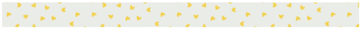 wash hearts divider yellow