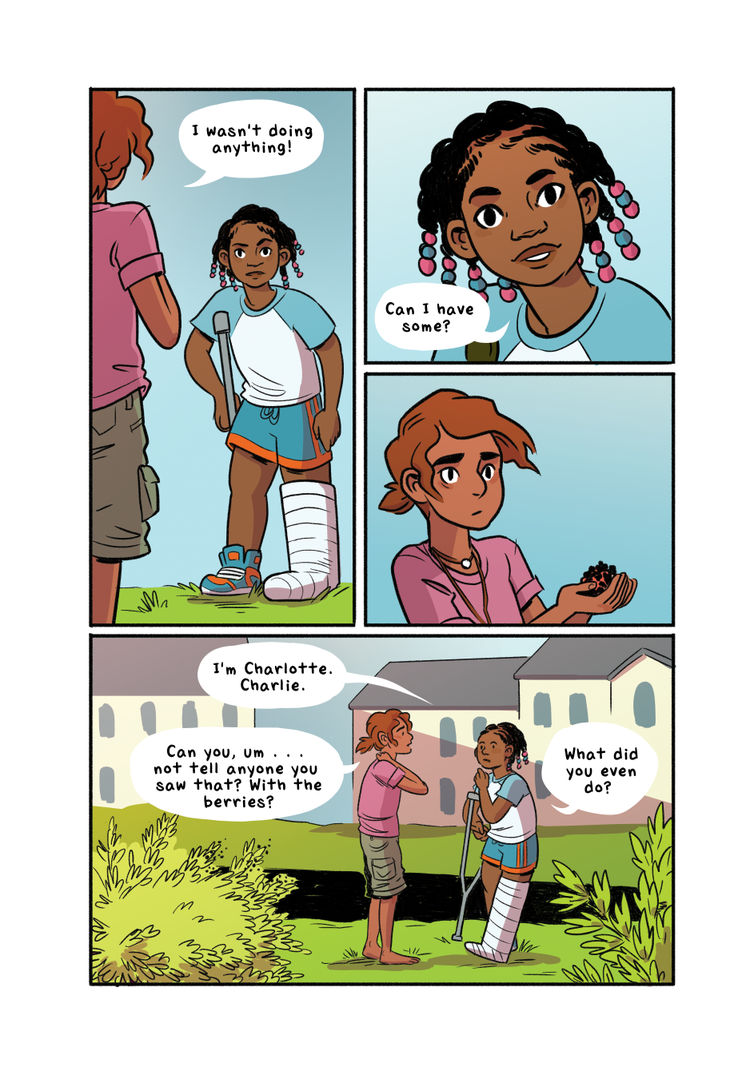 Drawn to Comics: Molly Ostertag's