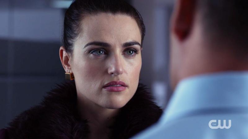Lena glares