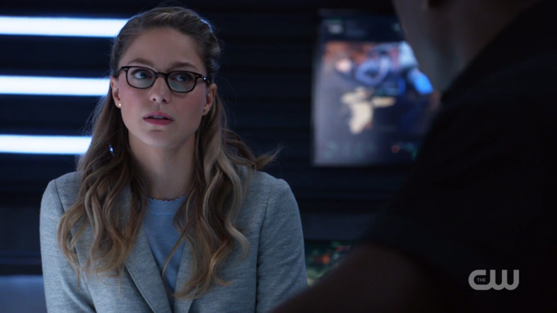 Kara looks Serious