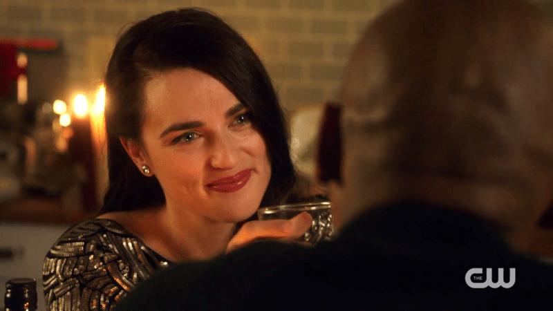 Lena's eyes sparkle