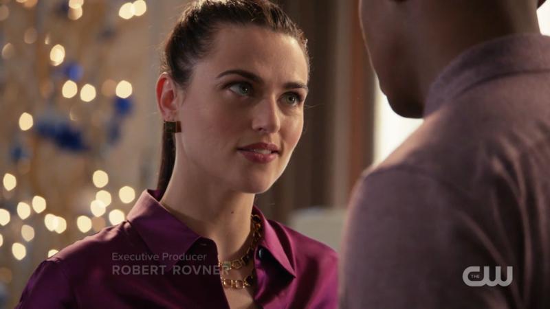 Lena looks good in purple