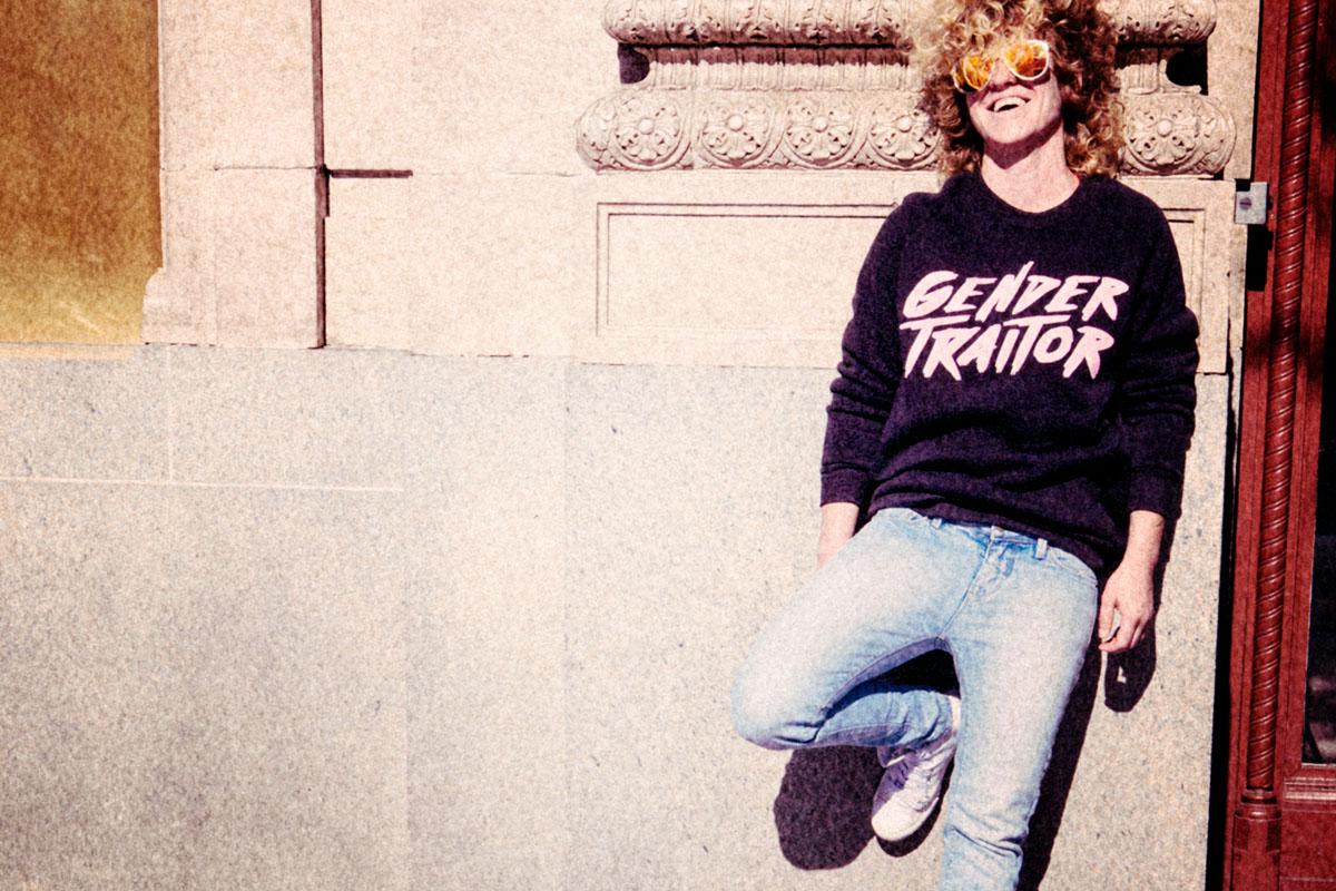 Autostraddle Merch Gender Traitor Sweatshirt