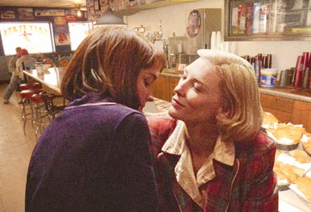 carol and therese in the salt cafe