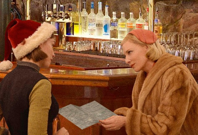 carol and therese discuss going to lusk
