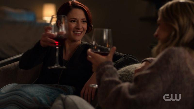 Alex toasts Kara