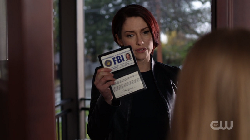 Agent Alex Danvers lays it DOWN