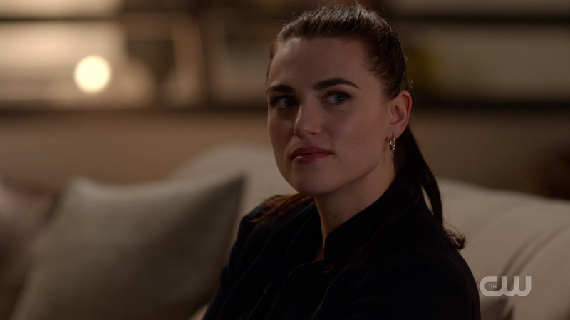 Lena looks mischievous