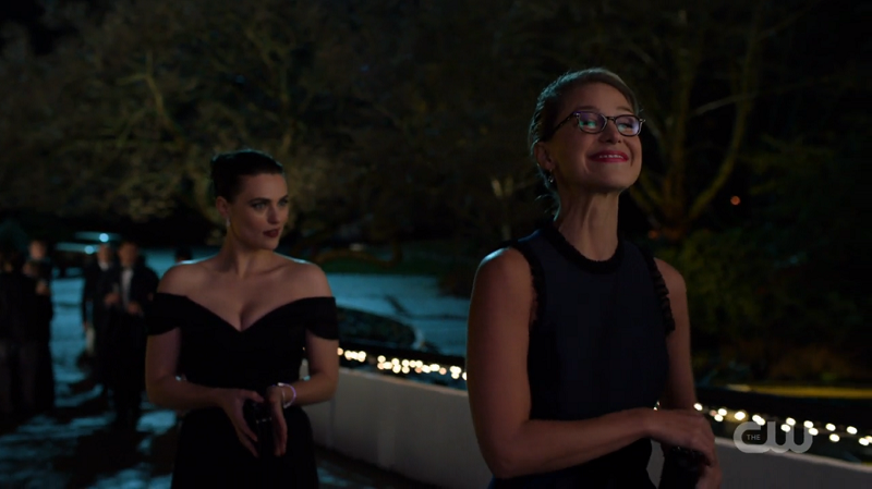 Kara dorks away while Lena leers